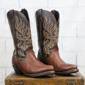 Laredo Lea Vamp Fox Cowboy Boots